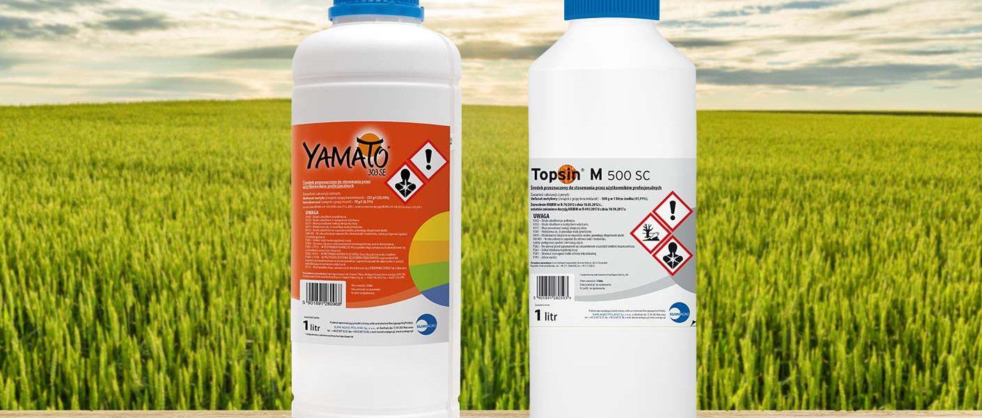 Topsin® M 500 SC i Yamato® 303 SE – wycofanie rejestracji fungicydów z tiofanatem metylu w 2021 r.