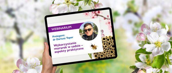 webinar wykorzystanie murarek w sadzie
